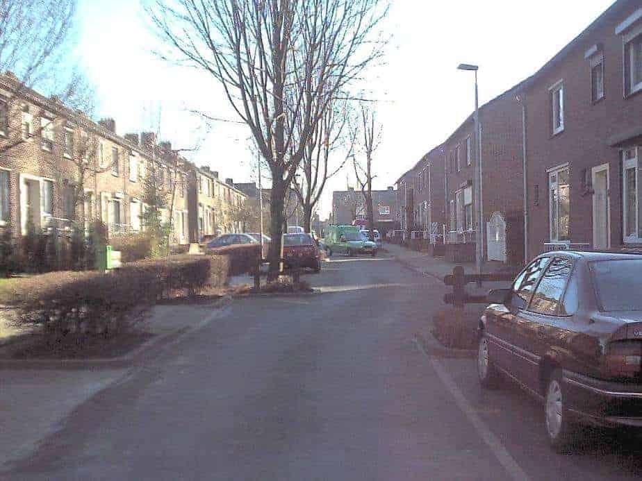 Salviastraat in 2002